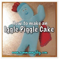 Make an Iggle Piggle cake - an easy toddler birthday cake