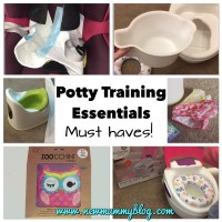 Potty training essentials - Must haves