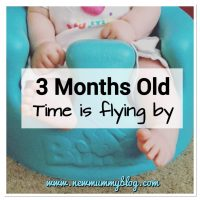 3 months old - where is the time going? | Second baby