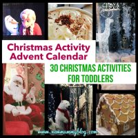 Christmas activities for toddlers - Our alternative Christmas Activity Advent Calendar