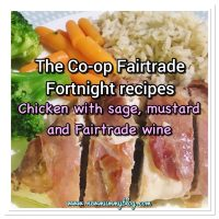 Chicken with sage, mustard and fairtrade wine recipe | Fairtrade Fortnight with the Co-Op ... #fairtradewine