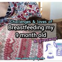Breastfeeding my 9 month old & Lansinoh nursing bundle #GIVEAWAY | @lansinohfamily #breastfeeding