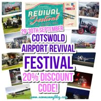 Cotswold Airport Revival Festival * 20% off Discount Code*