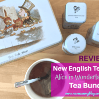 New English Teas - Alice in Wonderland gift bundle review