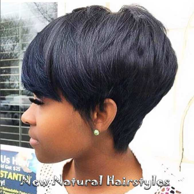Image Result For Short Hairstyles For Africanerican Women