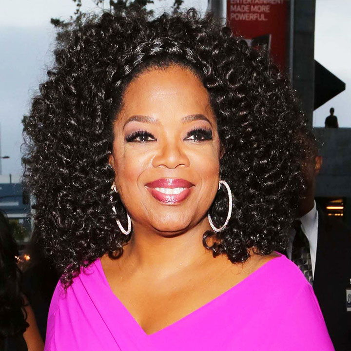 South African Celebrity Oprah Winfrey Curly Hairstyles