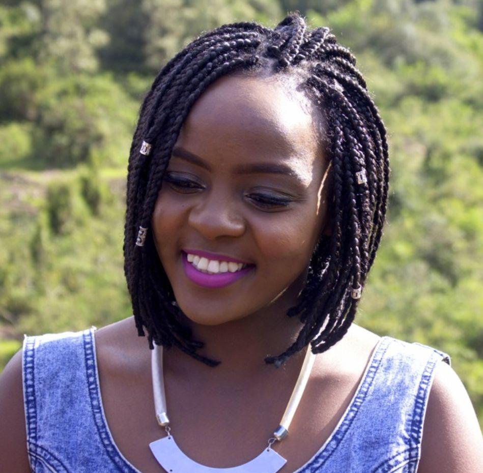 Black Box Braids Bob For African Women New Natural