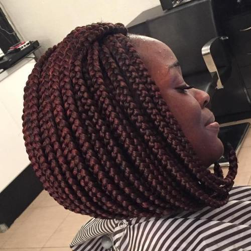 Box Braid Bob Hairstyles HairStyles