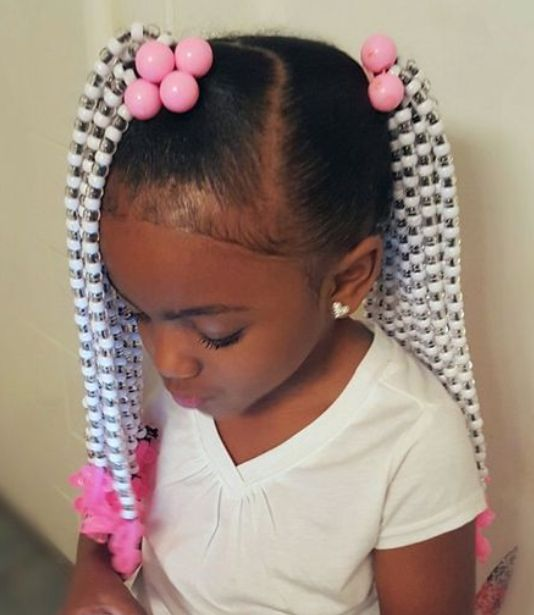 Toddler Braided Hairstyles With Beads New Natural Hairstyles
