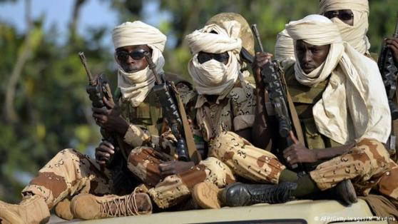 Chadian Military en route to battle Boko Haram militants