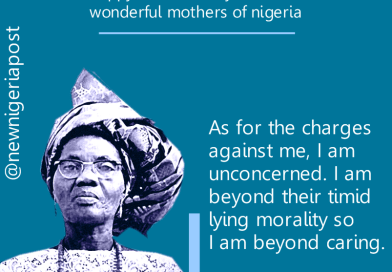 Celebrating Mother's Day – Funmilayo Ransome-Kuti