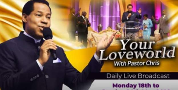 Pastor Chris Oyakhilome's TV station sanctioned in UK over Covid-19 claims