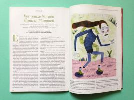 Editorial Illustration von Anne Wenkel