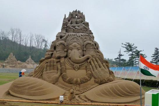 sand art by Sudarshan Pattnaik2