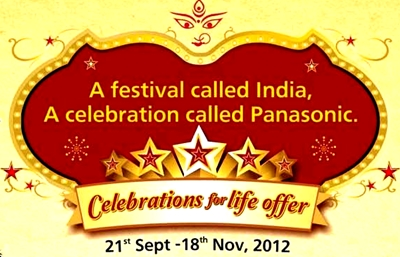 Panasonic Celebration Offer in Durga Puja and Diwali 2012 on Televisions in Odisha