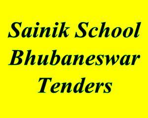 Tender in Sainik School, Bhubaneswar - 2012