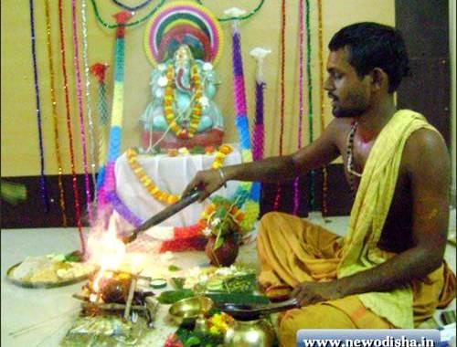 Ganesh Puja in Odisha