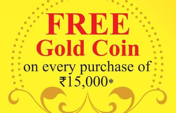Free Gold Coin Offer in Khimji Jewellers on Durga Puja 2013