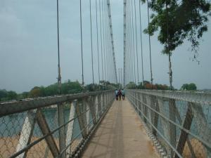 Dhabaleswar hanging bridge