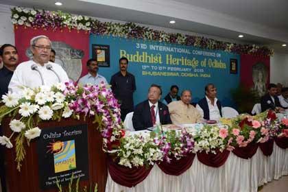 Odisha CM Naveen Patnaik inaugurates 3rd International Conference on Buddhist Heritage of Odisha