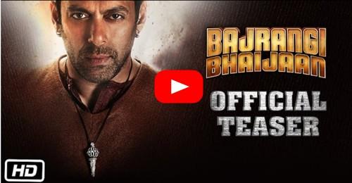 Bajrangi Bhaijaan Official Teaser starring Salman and Kareena