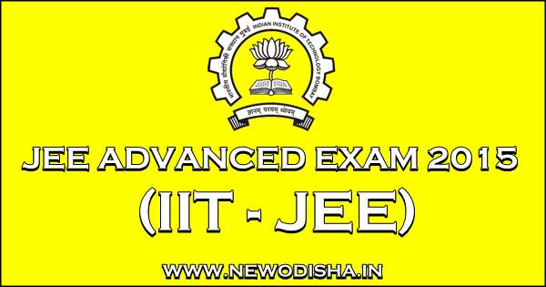 Jee Advanced Exam 2015