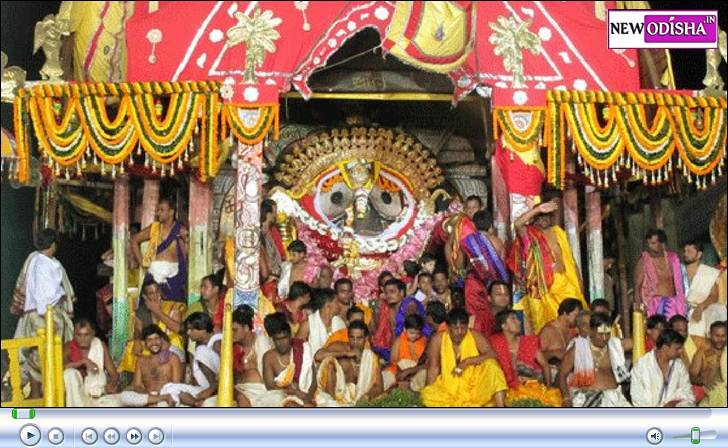 Lord Jagannath Sunabesa