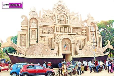 Unit1 Bhubaneswar Durga Puja gate 2015