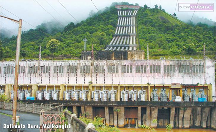 Balimela Dam of Malkangiri District