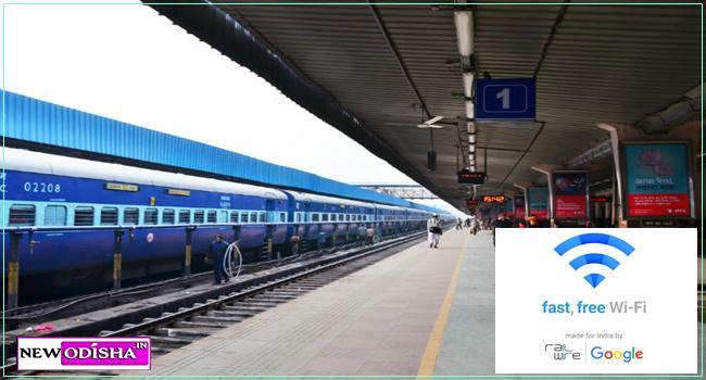 Google, RailTel Launch Free Wi-Fi Service at Bhubaneswar Railway Station
