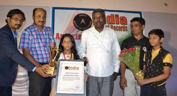 Odia Girl Meghali Malbika Swain Makes it to India Book of Records