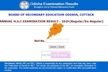 BSE Odisha Matric 10th HSC Exam Results 2019