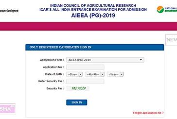 National Testing Agency NTA ICAR PG Exam Result 2019 Published