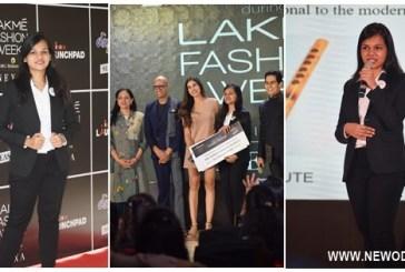 Soubhagyalaxmi Enters Lakme Fashion Week 2020