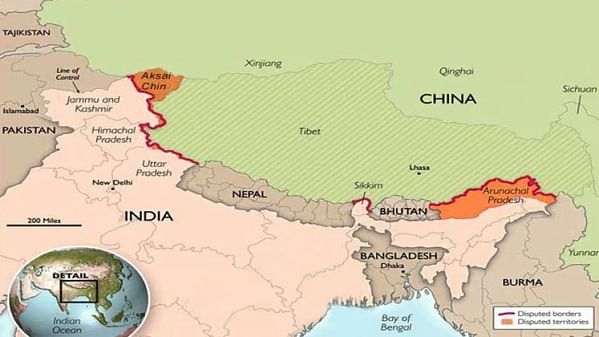 China includes Arunachal Pradesh in its updated map