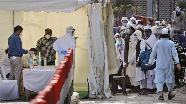Out of 4067 Coronavirus Cases 1445 cases linked to Tablighi Jamaat Event