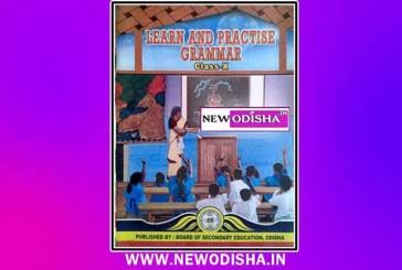 Class 10th English Grammar Book by BSE Odisha