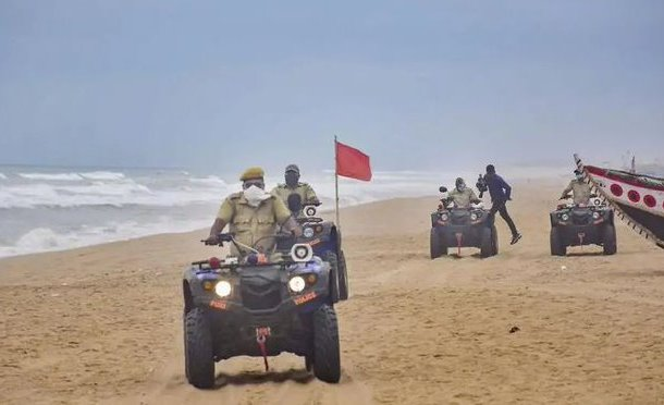 Odisha Deputes 4 senior IAS Officers for Cyclone Amphan Management
