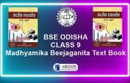Madhyamika Beejaganita (MTA) Odisha Board Class 9th Text Book