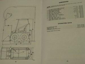 Case 1816 UniLoader Skid Steer Operators Manual Owners