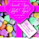 Join us for Sweets, Sips and Style Tips! A Valentine's Inspired Moms Night Out!