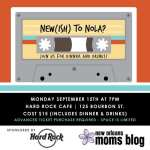 New(ish) to NOLA Dinner {Sponsored by the Hard Rock Cafe New Orleans}