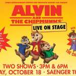 Alvin and the Chipmunks : Live on Stage! are Headed to the Saenger Theatre