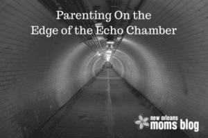 Parenting On the Edge of an Echo Chamber