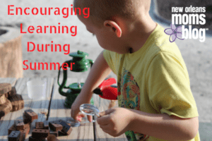 Encouraging Learning During the Summer