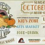 Family Friendly Events at The French Market This October