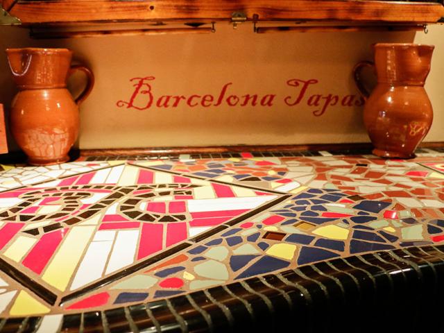 Barcelona Tapas Bar Menu