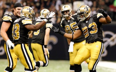Saints runningbacks nummer 6 i NFL
