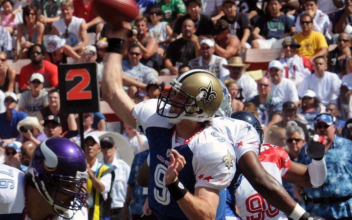 Drew Brees blandt de spillere som har fået flest stemmer til Pro Bowl