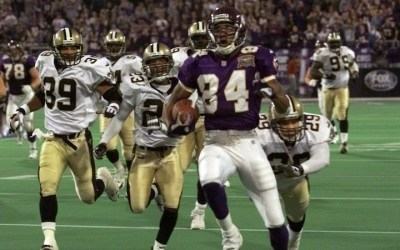 Randy Moss besøger Saints – updated